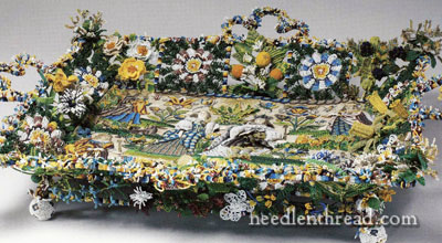 Twixt Art & Nature - 17th Century Beaded Basket