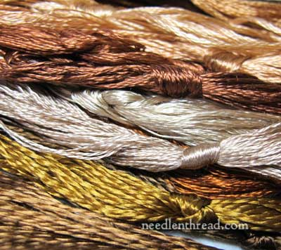 Antique Silk Floss - Browns