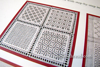 Openwork Pattern Samplers & Needleweaving Patterns by Luzine Happel