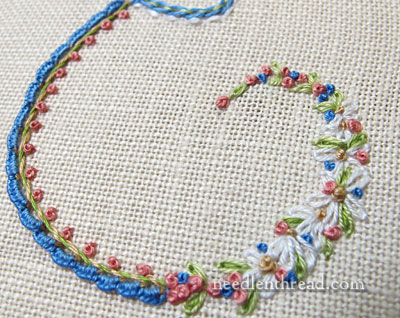 Floral Monogram Colors & Stitches