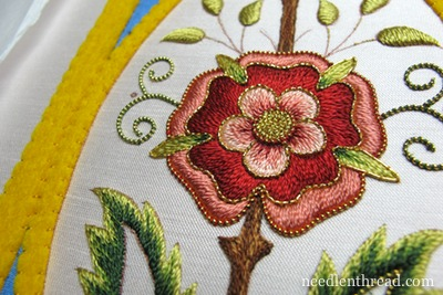 Mission Rose Embroidery Project