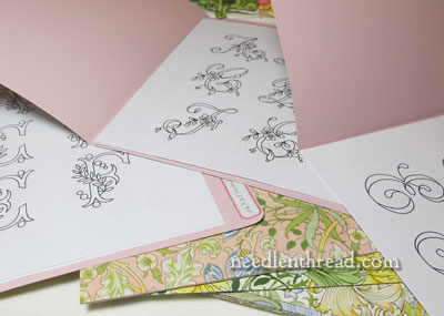 Monogram Organization & William Morris File Folders