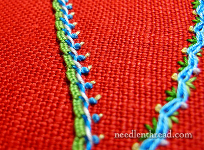 Color choices for Embroidery