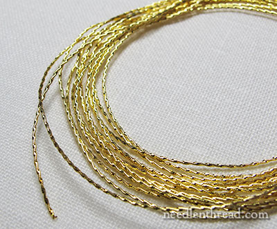 Goldwork Embroidery Threads from Spain