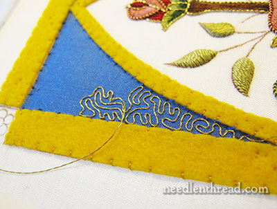 Goldwork Vermicelli Technique