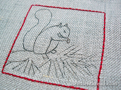 Little Squirrel Embroidery