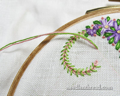 Parking Embroidery Threads