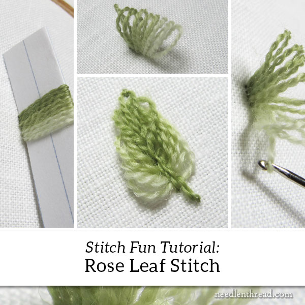 Rose Leaf Stitch