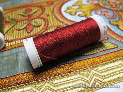 Repairing Hand Embroidered Vestments