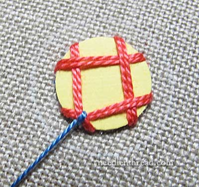 Shisha Embroidery Stitch Variation