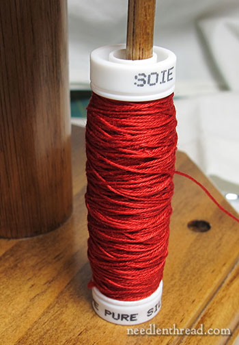 Snap Spools for Embroidery Threads