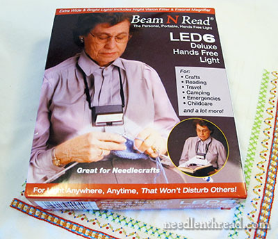 Beam N Read light for Needlework Review