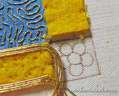 Mission Rose Goldwork & Silk Embroidery