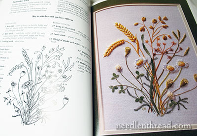 Embroideries from an English Garden by Carol Andrews