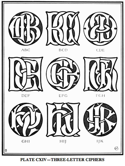 Monograms & Ciphers by Turbayne