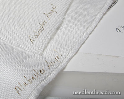 Secret Garden Embroidery Project: Fabric Information