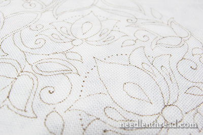 Secret Garden Embroidery Project