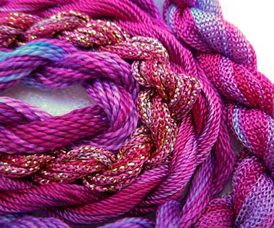 Colour Complements Overdyed Embroidery Threads