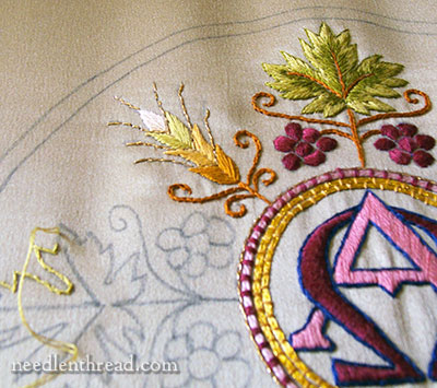 Ecclesiastical Embroidery - Alpha & Omega
