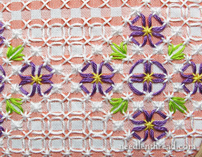 Gingham Lace / Chicken Scratch Embroidery Patter
