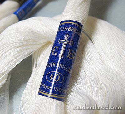 Coton a Broder Size 50 Whitework Embroidery Thread