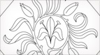 Lily Diamond Embroidery Pattern