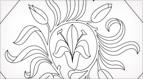 Lily Diamond Embroidery Pattern