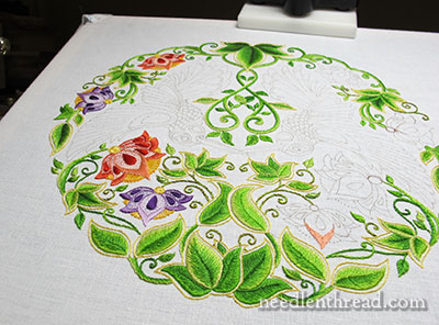 Secret Garden Embroidery: Flowers