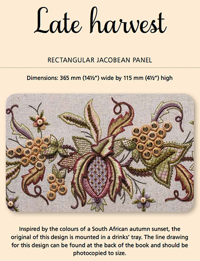 Late Harvest Embroidery Kit by Hazel Blomkamp