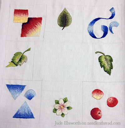 Long & Short Stitch and Needle Painting