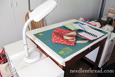 Embroidery Workroom & Ironing Table