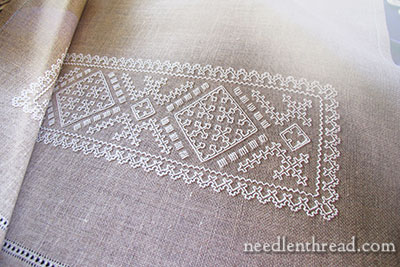 Sardinian Knotted Embroidery
