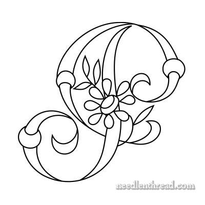 Monograms for Hand Embroidery: Letter I