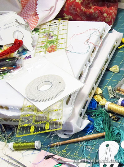 Embroidery Work Space