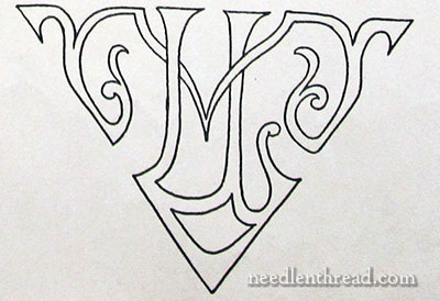 Monograms, Ciphers, Initials for Embroidery