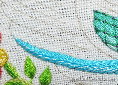 Secret Garden Hummingbirds Embroidery Project