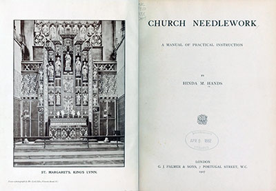 Church Needlework: A Manual of Practical Instruction by Hinda Hands