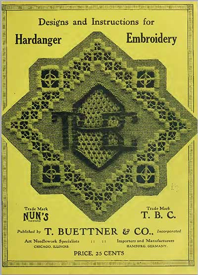 TBC Instructions and Designs for Hardanger