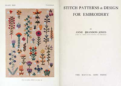 Stitch Patterns & Designs by Ann Brandon-Jones