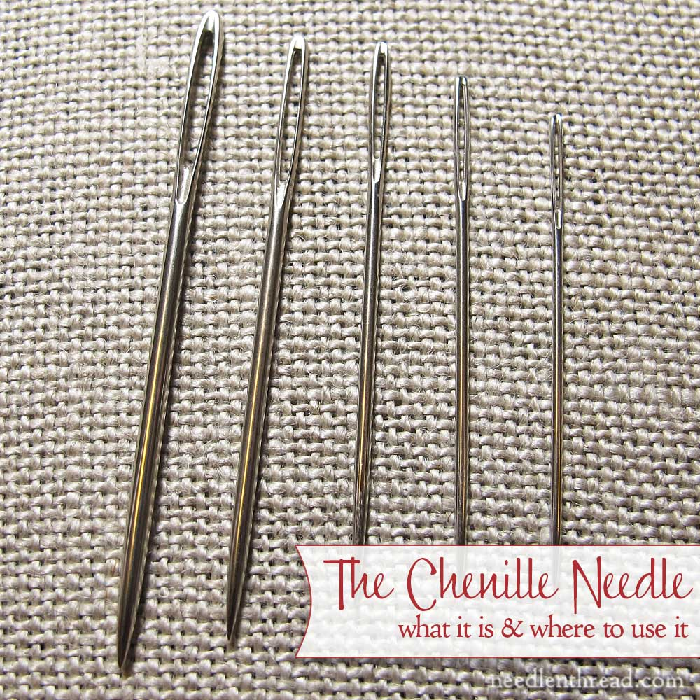 Chenille Needle for Hand Embroidery