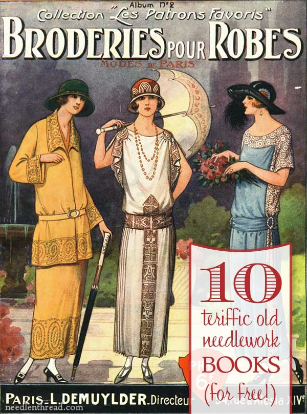 10 Old Needlework Books, free online