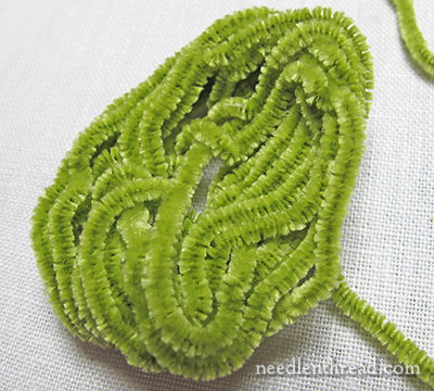 Silk Chenille Hand Embroidery Thread