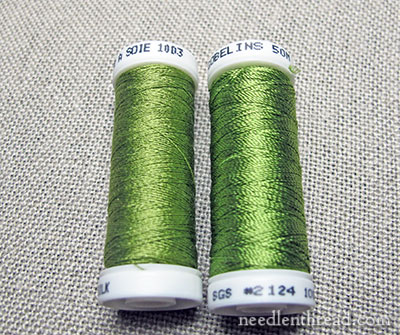 Silk Chenille in Hand Embroidery