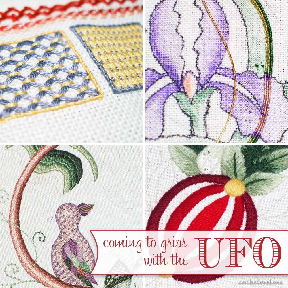 Hand Embroidery UFO's & Why We Have Them