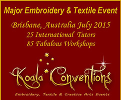 Koala Conventions and Australian Needle Arts