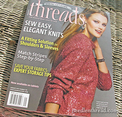 Threads Magazine: Embellishing with Beetle Wings