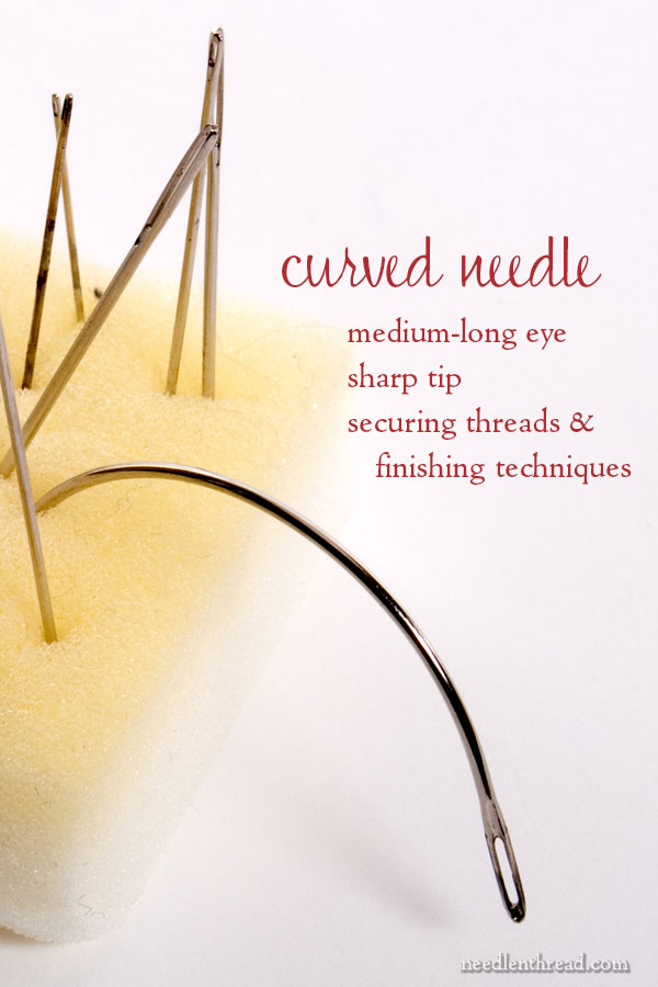 Hand Embroidery Needles How To Choose Them Amp Use Them