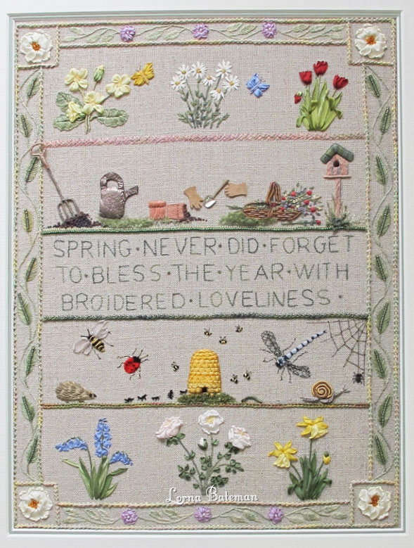 Lorna Bateman Embroidery Kits