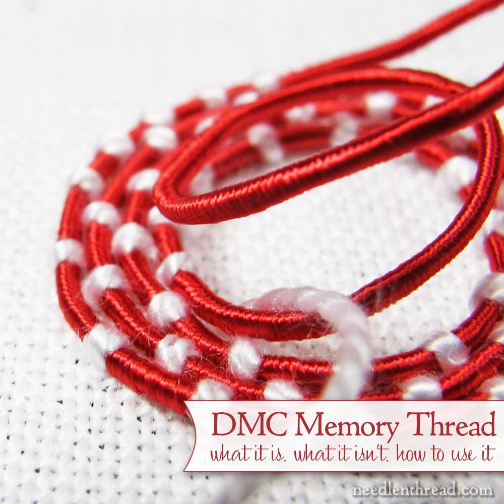 DMC Memory Thread - How to Use It