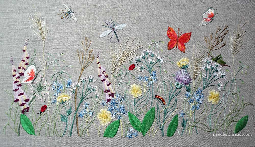 Breath of Spring Embroidery Project